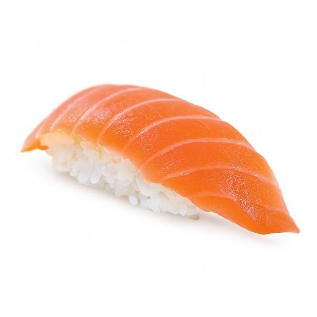 Суши с лососем - фото 4581